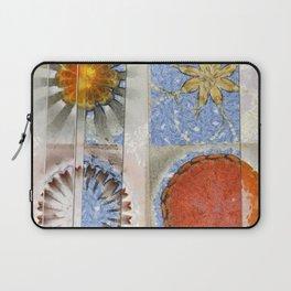 Goondie Fact Flower  ID:16165-095608-32641 Laptop Sleeve