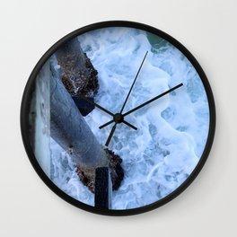 Break Wall Clock