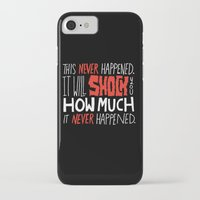 men iPhone & iPod Cases featuring Mad Men by Chris Piascik