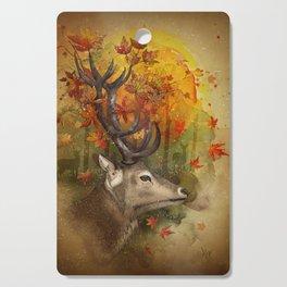 Oh, Deer! Autumn Cutting Board