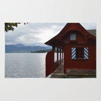 switzerland Area & Throw Rugs featuring Switzerland by Mackenzie Lee