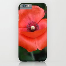 Red Poppy Slim Case iPhone 6s
