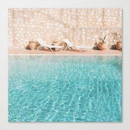 Swimming Pool V Canvas Print