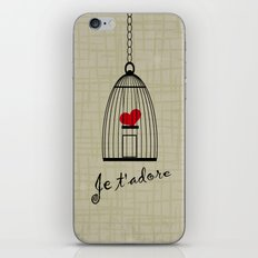 Je t'adore iPhone & iPod Skin