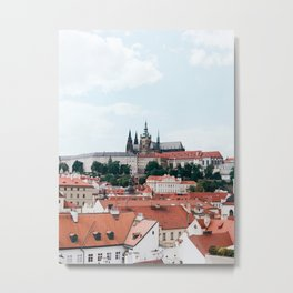 Prague Castle Metal Print