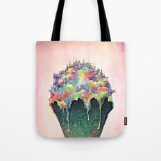 Neapolia (Surreal ice cream city) Tote Bag