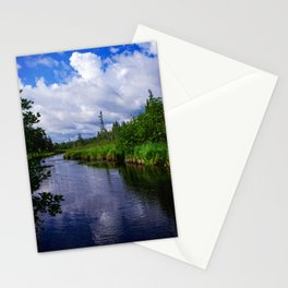Nature Photography - Boundary Waters - BWCA Minnesota - Blue and Green Stationery Cards