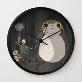 My Neighbor Poporgo Wall Clock