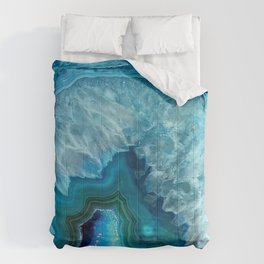 Turquoise Blue Agate Comforters