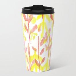 170814 Leaves Watercolour 10 Travel Mug