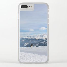Wunderfull Snow Mountain(s) 8 Clear iPhone Case
