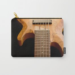 Music is a Moral Law ~ Bass Guitar Carry-All Pouch