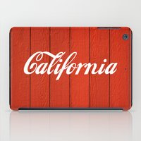 california iPad Cases featuring California  by Spyck