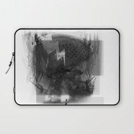 Brain Sync/Black & White Laptop Sleeve