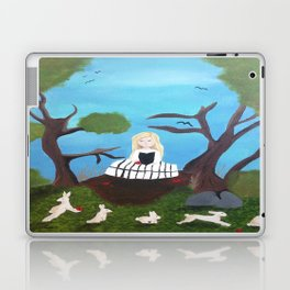 Skull Girl Laptop & iPad Skin