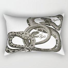 Vintage snakes Rectangular Pillow
