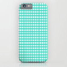 LINES in MINT Slim Case iPhone 6s