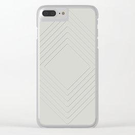 Celeste Diamonds Clear iPhone Case