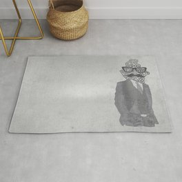 The Gentlemanly Squiggle Rug