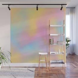 rainbow tie dye Wall Mural