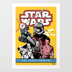 The Force Awakens Art Print