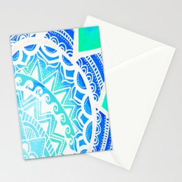 Turquoise Dream Stationery Cards
