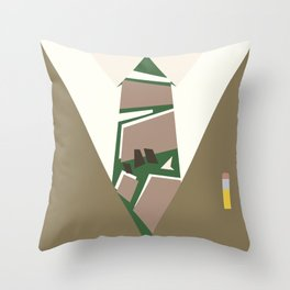 Shutter Island Throw Pillow