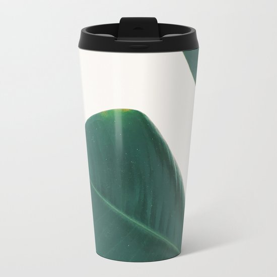 rubber fig leaves i travel mug by cassia beck society6