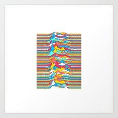 Unknown Colors Art Print
