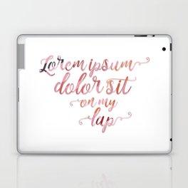 Lorem Ipsum Dolor Sit Laptop & iPad Skin