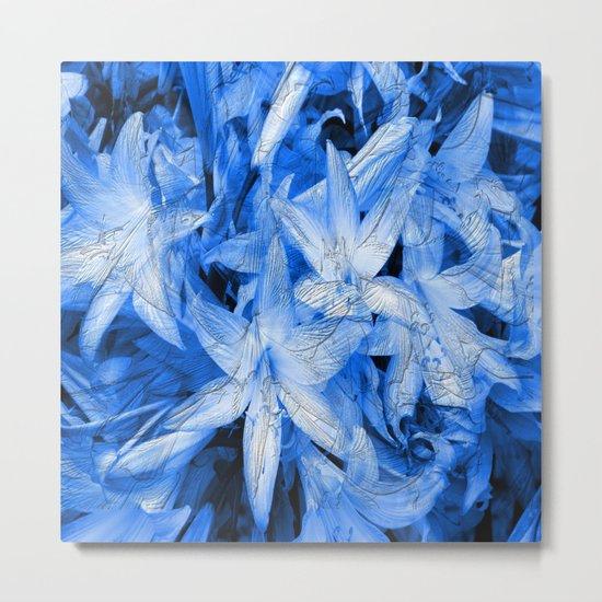 Blue... Metal Print