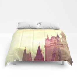Disney Cinderella Castle Comforters