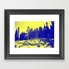 Don't Eat The Yellow Snow! Framed Art Print