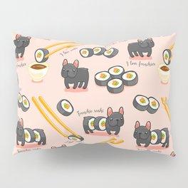 French bulldog maki sushi Pillow Sham