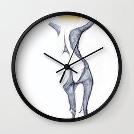 Summer head Wall Clock