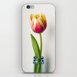 Tulip beauty iPhone Skin