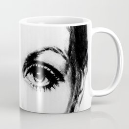 60's Eyelashes Coffee Mug