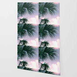 Sunset Palms jungalo tropical Wallpaper