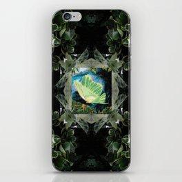 Luna Moth In Ivy iPhone Skin
