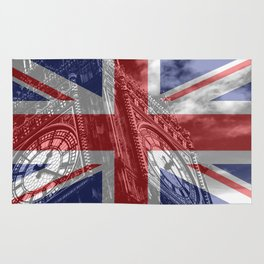Big Ben - UK Flag Rug