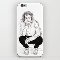 coconutwishes iPhone & iPod Skins featuring Cute Harry by Coconut Wishes