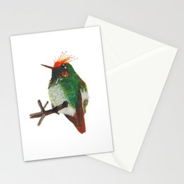 Rufous-crested Coquette Stationery Cards