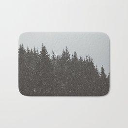 Wintery Forest Bath Mat