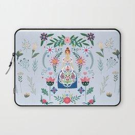 Fairy Tale Folk Art Garden Laptop Sleeve