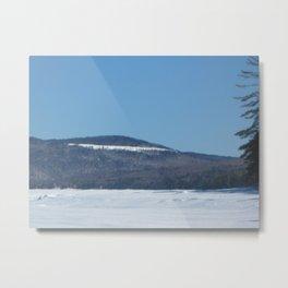 Mountainsides Metal Print