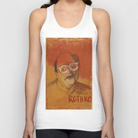 rothko Tank Tops featuring 50 Artists: Mark Rothko by Chad Beroth
