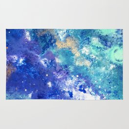 Muscida I - Abstract Costellation Painting Rug