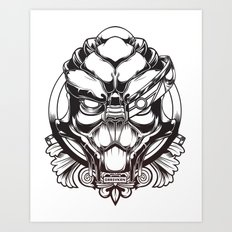 Mass Effect. Garrus Vakarian Art Print