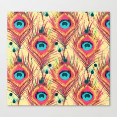 Feather Frenzy Canvas Print