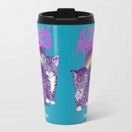 Kittens & Rainbows Travel Mug